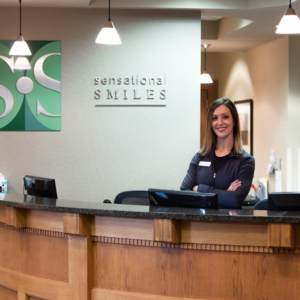 Sensational Smiles front desk
